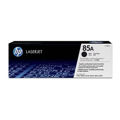 Picture of HP 85A Black Original LaserJet Toner Cartridge (CE285A)