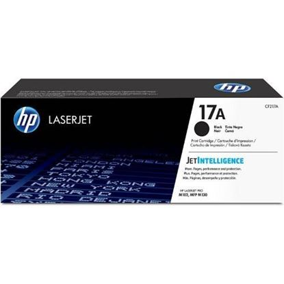 Picture of HP 17A Black Original LaserJet Toner Cartridge (CF217A)