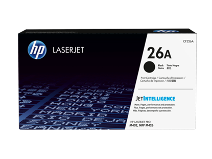 Picture of HP CF226A Black Original LaserJet Toner Cartridge