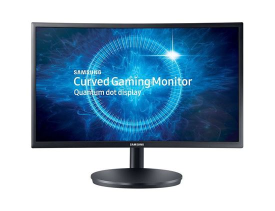"""Picture of 24"""" Curved Samsung LED Monitor"""