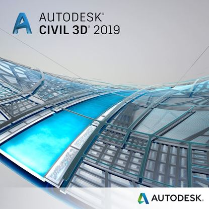 Picture of Autodesk Civil 3D 2019  Single-user ELD Annual  Subscription