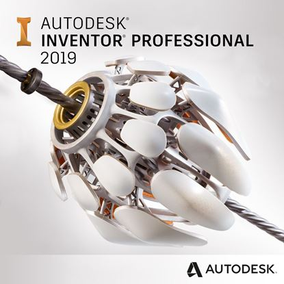 Picture of Autodesk Inventor Professional 2019 Commercial New Single-user ELD Annual Subscription