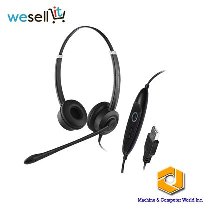 Picture of Addasound Crystal SR2702 USB Headset