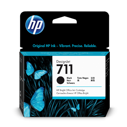 Picture of HP 711 80-ml Black Ink Cartridge
