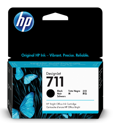 Picture of HP 711 38-ml Black Ink Cartridge