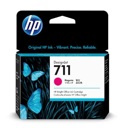 Picture of HP 711 29-ml Magenta Ink Cartridge