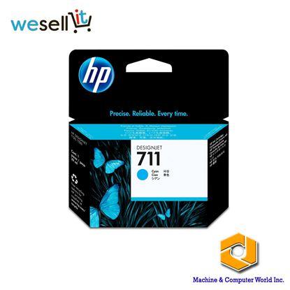 Picture of HP 711 29-ml Cyan Ink Cartridge