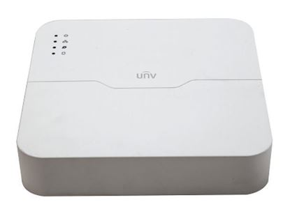 Picture of Uniview 8Ch, PoE NVR, Plastic White