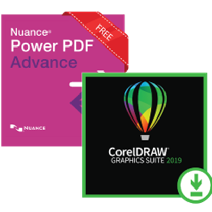 Picture of CorelDraw with Nuance Power PDF
