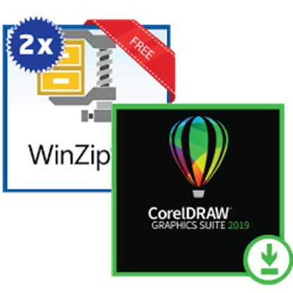 Picture of CorelDraw with WinZip 23 Standard