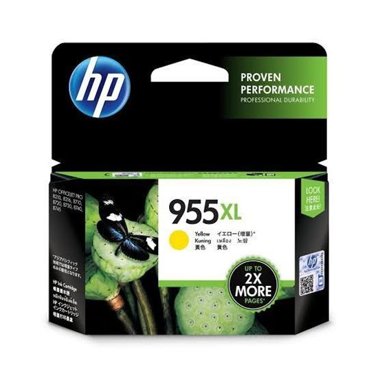Picture of HP 955XL Yellow Original Ink Cartridge