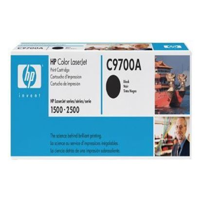 Picture of HP 121A Black Original LaserJet Toner Cartridge