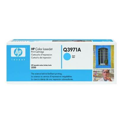 Picture of HP 123A Cyan Toner Cartridge