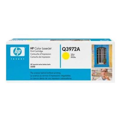 Picture of HP 123A Yellow Toner Cartridge