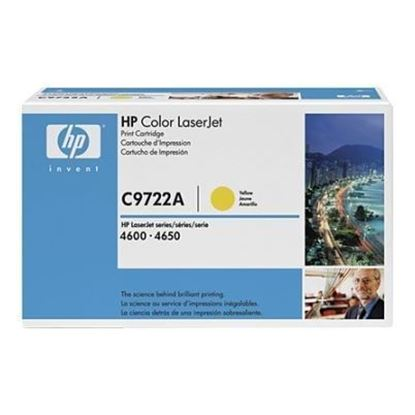 Picture of HP 641A Yellow LaserJet Toner Cartridge