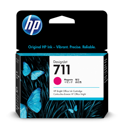 Picture of HP 711 29-ml Magenta Ink Cartridge