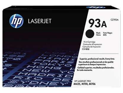 Picture of HP 93A Black Original LaserJet Toner Cartridge
