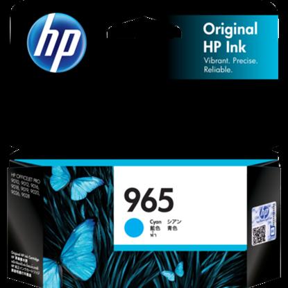 Picture of HP 965 Cyan Original Ink Cartridge