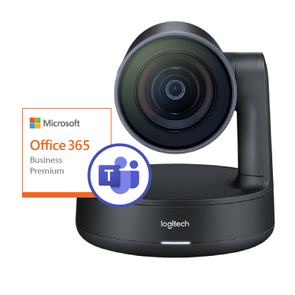 Picture of Logitech Rally + Office 365 Business Premium