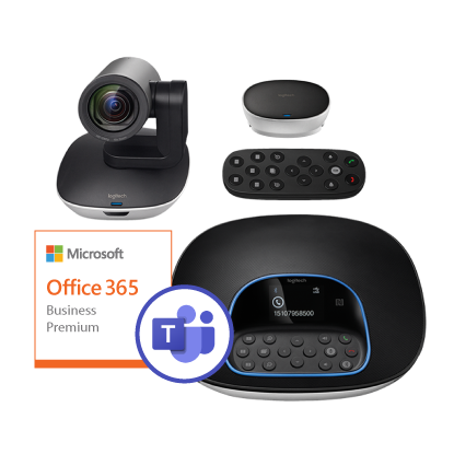 Picture of Logitech Group + Office 365 Business Premium