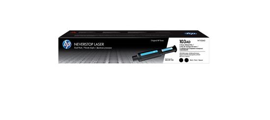 Picture of HP 103AD Dual Pack Black Original Neverstop Toner Reload Kit