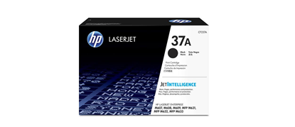 Picture of HP 37A Black Original LaserJet Toner Cartridge