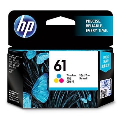Picture of HP 61 Tricolor Original Ink Cartridge