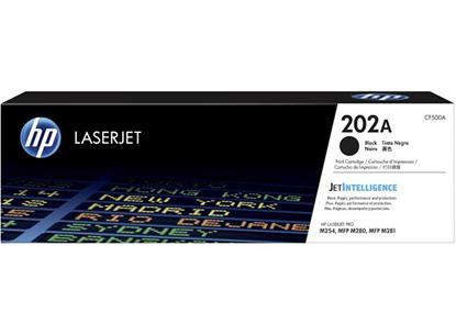 Picture of HP 202A Black Original LaserJet Toner Cartridge