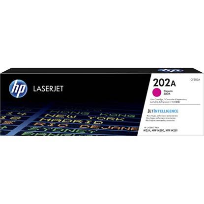 Picture of HP 202A Magenta Original LaserJet Toner Cartridge