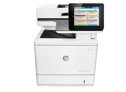 Picture of HP Color LaserJet Enterprise MFP M577f