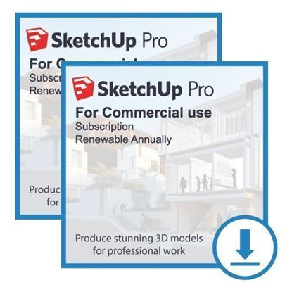 Picture of SketchUp Pro Bundle - Annual Subscription (2 licenses)