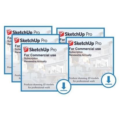 Picture of SketchUp Pro Bundle - Annual Subscription (5 licenses)