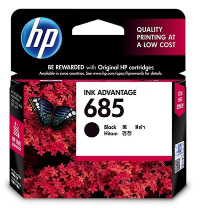 Picture of HP 685 Black Original Ink Advantage Cartridge
