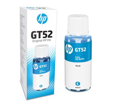 Picture of HP GT52 Cyan Original Ink Bottle (M0H54AA)