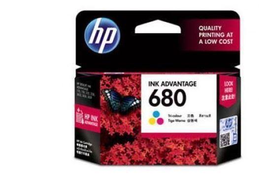 Picture of HP 680 Tricolor Original Ink Advantage Cartridge
