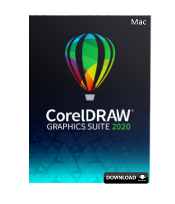 Picture of CorelDRAW Graphics Suite 2020 Single User Business License (MAC)