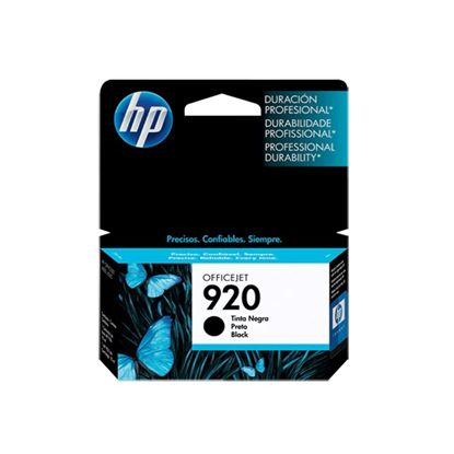 Picture of HP 920 Black Original Ink Cartridge