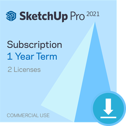 Picture of SketchUp Pro - 1 year Subscription - Bundle of 2
