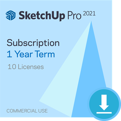 Picture of SketchUp Pro - 1 year Subscription - Bundle of 10