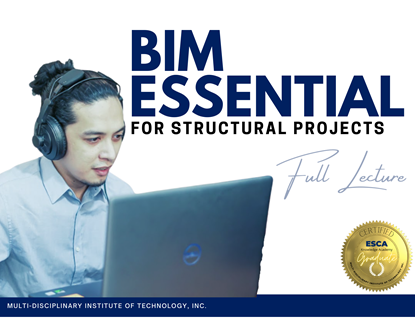 Picture of BIM Essentials for Structural Projects - FULL LECTURE